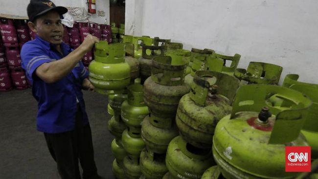 Wapres Ma'ruf Amin mengakui subsidi LPG salah sasaran. Data yang dimilikinya, 65 persen subsidi justru dinikmati orang mampu.