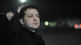 Presiden Ukraina Positif Corona
