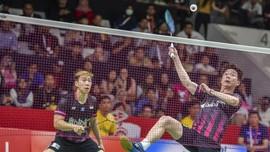 Marcus/Kevin Waspadai Malaysia di Semifinal Indonesia Masters