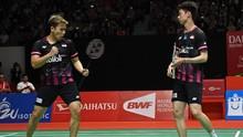 Malaysia Open Ditunda, Marcus/Kevin Absen Lebih Lama