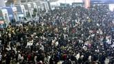 Mudik sekitar tiga miliar orang saat Imlek di China merupakan yang terbesar di dunia.