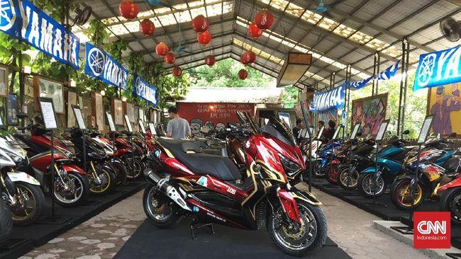 Adu modifikasi MAXI Yamaha Indonesia tahun ini tak hanya diikuti Nmax, Xmax, Aerox, Lexi, tetapi juga pendatang baru, XSR 155.