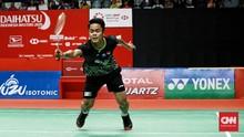 Hasil BWF World Tour Finals: Ginting Tersingkir