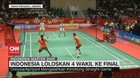 VIDEO: Indonesia Loloskan 4 Wakil ke Final Indonesia Master