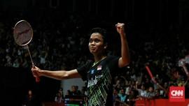 Napas Segar Ginting di Grup Neraka BWF World Tour Finals