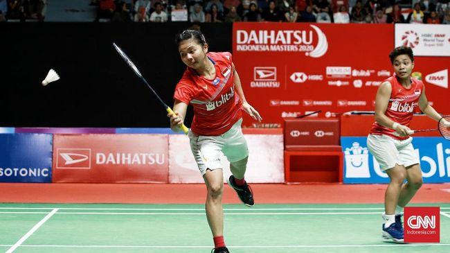 Ganda putri andalan Indonesia, Gresyia Polii/Apriyani Rahayu, tak diberi target prestasi dalam ajang BWF terdekat, melainkan hanya diminta tidak cedera.