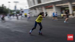 PSBB Tak Halangi Warga Olahraga di GBK