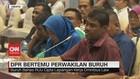 VIDEO: Bertemu DPR, Buruh Bahas Omnibus Law Lapangan Kerja