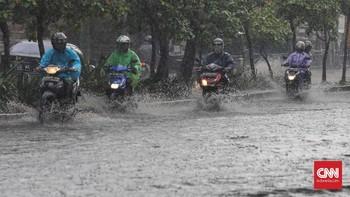 BMKG Perkirakan Jakarta Hujan Sepanjang Hari Ini