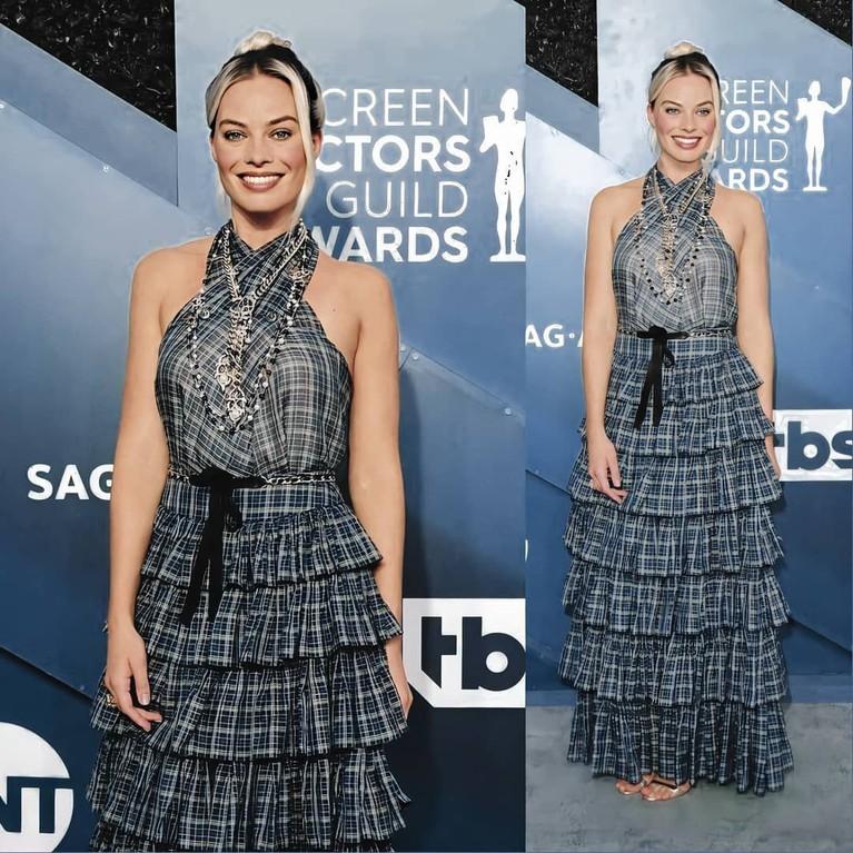 Berikut gaya busana terburuk di ajang SAG Awards 2020, yuk intip!