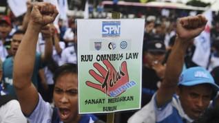 RUU Ciptaker: Diawali Gelombang Protes, Dikebut saat Pandemi
