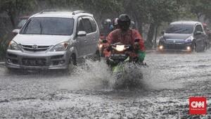 BMKG: Waspada Hujan, Petir dan Angin Kencang di Jabodetabek