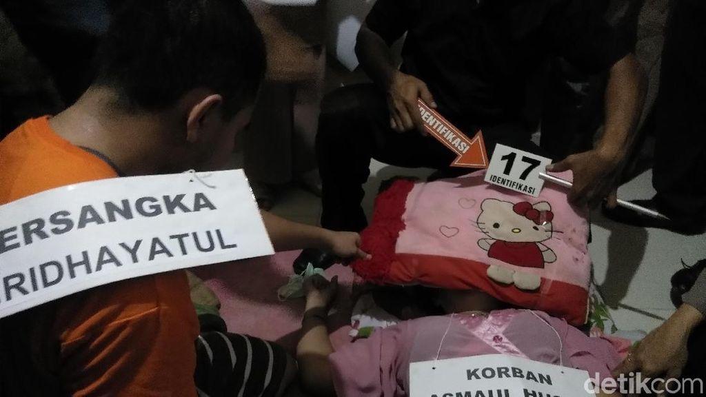 Rekonstruksi, Pemeran Korban Mahasiswi UIN Makassar Kesurupan