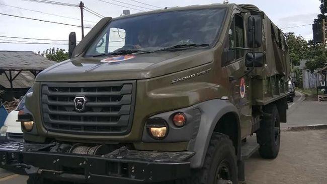 GAZ Sadko merupakan kendaraan produksi Gorky Automobile Plant asal Rusia yang dipakai BNPB bantu korban banjir dan longsor di Bogor.