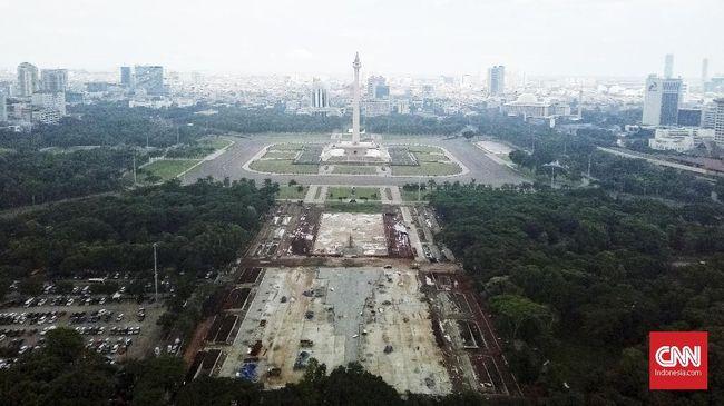 Pihak Kemenpora mengatakan ogah menanggapi larangan gelar ajang Formula E di area Monas Jakarta pada 6 Juni.