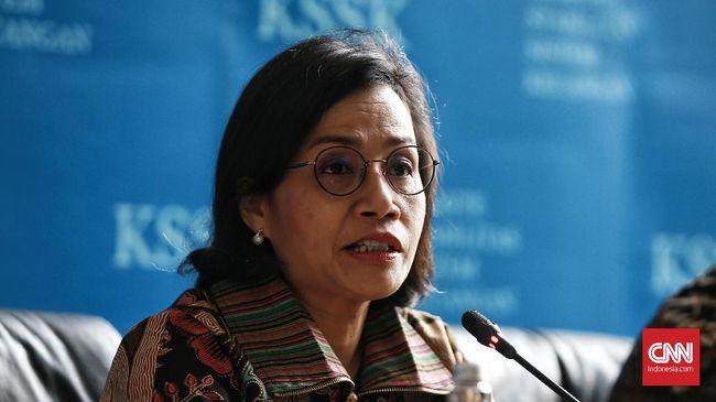 Menkeu Sri Mulyani menyatakan pembiayaan utang melonjak 143 persen dari Rp68,2 triliun menjadi Rp165,8 triliun pada Januari 2021.