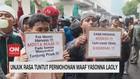 VIDEO: Unjuk Rasa Tuntut Permohonan Maaf Yasonna Laoly