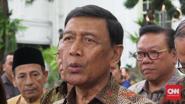 Ketua Wantimpres Wiranto mengaku sudah bertemu dengan perwakilan World Health Organization (WHO) PBB secara langsung.