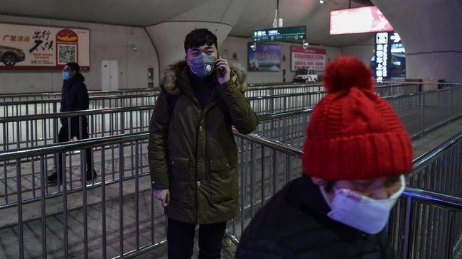 Pemerintah China memperkirakan jumlah warga yang mudik untuk merayakan Tahun Baru Imlek tahun ini turun sekitar 20 persen dibandingkan tahun lalu.