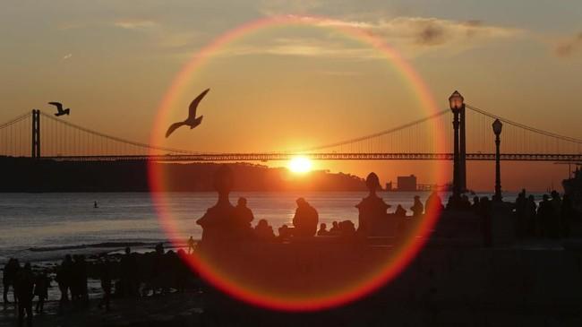 Dalam foto pilihan CNNIndonesia.com pekan ini, ada kisah kawanan belalang di Kenya, bayang-bayang di Shibuya, dan matahari tenggelam di Lisbon.
