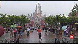 VIDEO: Disneyland Shanghai Ditutup Akibat Virus Corona
