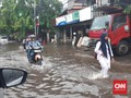 BPBD DKI Catat 17 Titik Banjir Akibat Hujan Sejak Pagi