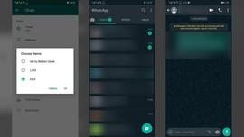 Cara Aktifkan Dark Mode WhatsApp di Android dan iPhone