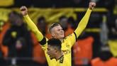 Erling Haaland mengganas bersama Borussia Dortmund usai mencetak dua gol dalam durasi 25 menit melawan FC Koln di Liga Jerman.