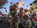 FOTO: Perayaan Imlek di Penjuru Dunia