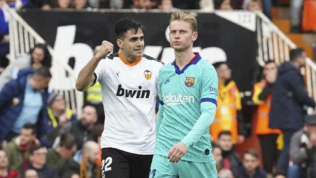 Kekalahan 0-2 yang dialami Barcelona dari Valencia dalam lanjutan Liga Spanyol, Sabtu (25/1), menghadirkan beberapa fakta menarik.