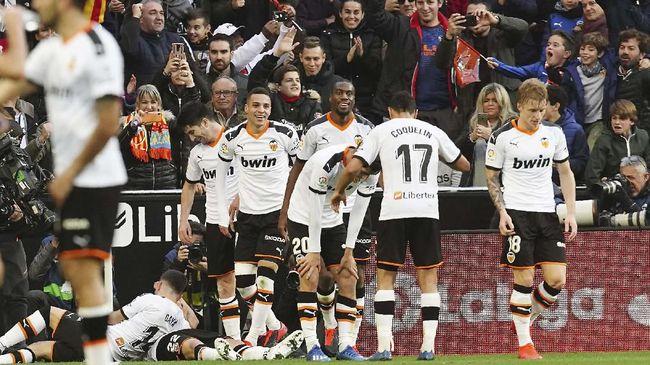 Valencia mengalami krisis pemain dalam persiapan menghadapi tuan rumah Atalanta pada leg pertama babak 16 besar Liga Champions.