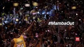 VIDEO: Pencapaian Kobe Bryant Selama di NBA