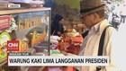 VIDEO: Warung Kaki Lima Langganan Presiden