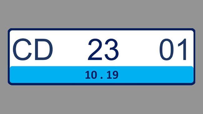 Alasan Polisi Pilih Pelat Nomor Kendaraan Listrik Warna Biru
