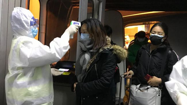 Tim utusan WHO tiba di China kemarin untuk membantu menghadapi wabah virus corona.