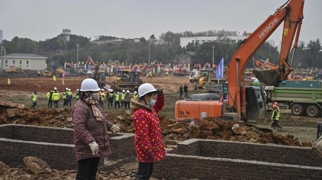 China telah memulai pembangunan rumah sakit khusus pasien virus Corona di Distrik Caidian, Wuhan yang ditargetkan selesai pada 3 Februari 2020.