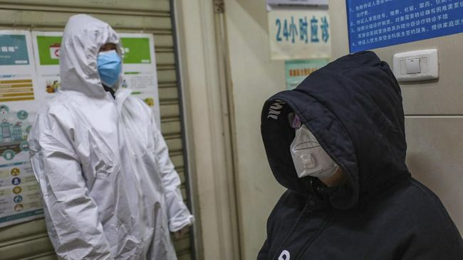 Xu Zhiyong, seorang aktivis ditangkap lantaran memprotes cara Presiden Xi Jinping menangani kondisi darurat virus corona.