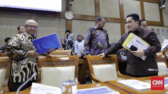Menteri BUMN Erick Thohir menunjuk Angger P Yuwono sebagai dirut baru Jiwasraya, menggantikan pejabat sebelumnya Hexana Tri Sasongko.