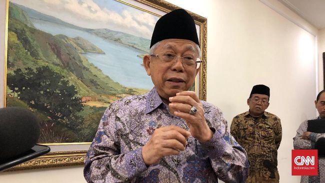 Wakil Presiden Ma'ruf Amin menilai krisis ekonomi yang dialami RI dan negara-negara di dunia saat ini terdampak lebih dulu ke sektor riil.