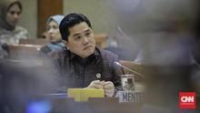 Erick Thohir Akan Swastanisasi BUMN Berpendapatan Rp50 M