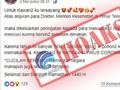 Kemenkominfo Sebut Kabar Indonesia Lockdown Hoaks