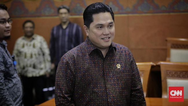 Menteri BUMN Erick Thohir menargetkan holding rumah sakit pelat merah dapat mengerek pendapatan hingga Rp10 triliun per tahun.