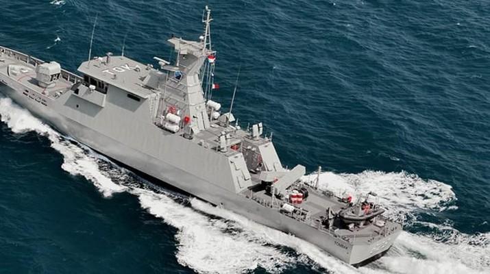 Canggih! Intip Penampakan Kapal Perang Karya Anak Bangsa Ini