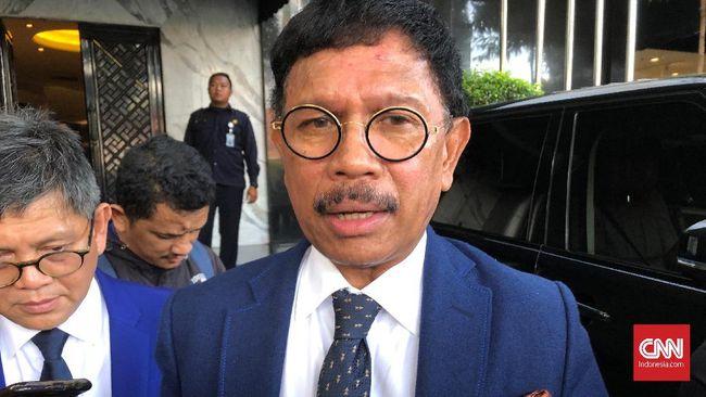 Sekjen NasDem Johnny G Plate menegaskan bahwa partainya sejalan dengan kehendak pemerintah.