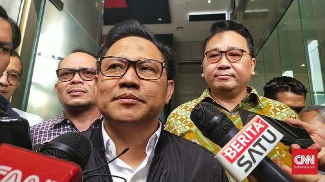 KPK mencecar Ketua Umum PKB Muhaimin Iskandar perihal aliran dana terkait dugaan korupsi proyek di Kementerian PUPR Tahun Anggaran 2016.