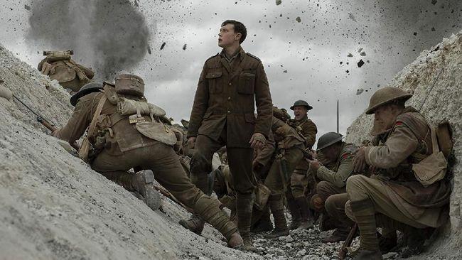 Film 1917 berhasil menduduki posisi puncak box office China pada pekan ketiga sejak bioskop di Negeri Tirai Bambu kembali beroperasi di tengah pandemi Covid-19.