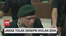 VIDEO: Jaksa Tolak Eksepsi Kivlan Zen