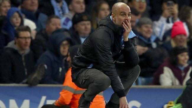 Pep Guardiola mengklaim hanya 13 pemain senior yang bisa tampil saat Man City menjamu Leicester City, Minggu (27/9) malam waktu Indonesia.