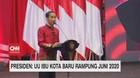 VIDEO - Presiden: UU Ibu Kota Baru Rampung Juni 2020