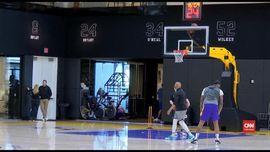 VIDEO: Lakers Gelar Latihan Perdana Usai Kepergian Kobe